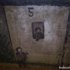 Arte: ÚNICO CARTEL DE CIEGOS JUGLARES 1800 ORIGINAL. Lote 49088163