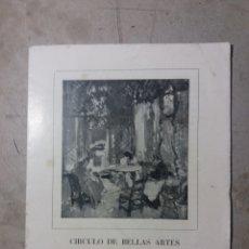 Arte: SALVADOR TUSET 1949 EXPOSICIÓN CÍRCULO DE BELLAS ARTES VALENCIA.. Lote 131993725