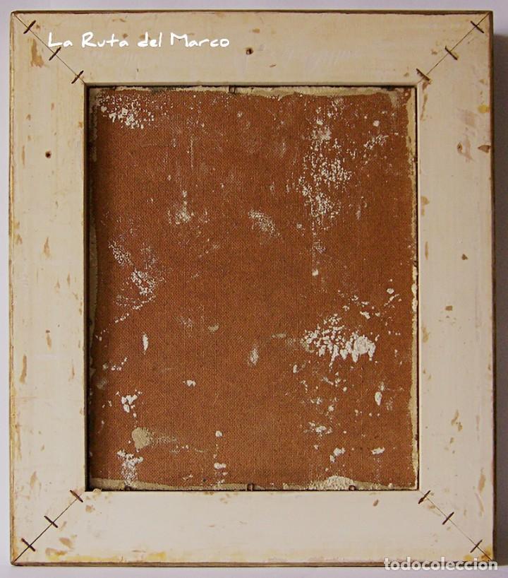 Arte: Cuadro de óleo sobre Tablero - Jarrón con Flores - Firmado - Foto 5 - 132005590