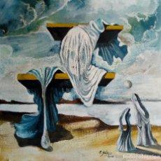 Arte: PINTURA SURREALISTA,FIRMADA. Lote 132114378