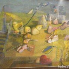 Arte: RUBEN DARIO VELAZQUEZ - OLEO/ACRILICO SOBRE CARTON. Lote 132128646