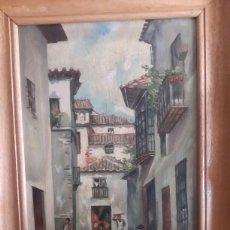 Arte: ÓLEO SOBRE LIENZO FIRMADO. Lote 132195070