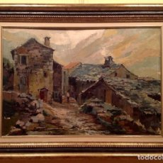 Kunst - Cuadro Óleo Del Pintor / Galobardes Carbonell, Francesc / Medidas 73X50CM - 132199958