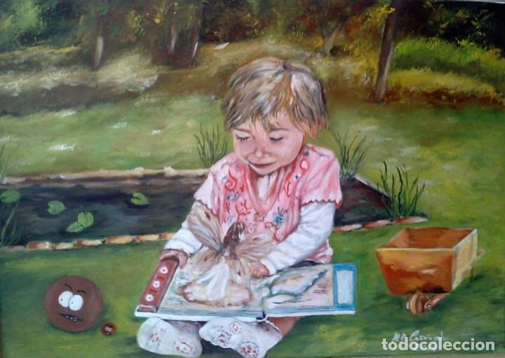 INOCENCIA, OLEO LIENZO (Arte - Pintura - Pintura al Óleo Contemporánea )