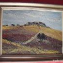 Arte: COZAR.-GENAVE.-ALDEAS,CAMPOS Y OLIVOS.-GRAN CUADRO DE JOSE COZAR.-FIRMADO.-OLEO-LIENZO.-AÑO 1972.. Lote 132284374