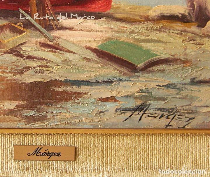Arte: Márquez - Marina (I) - Cuadro de óleo sobre lienzo - Foto 3 - 132410934