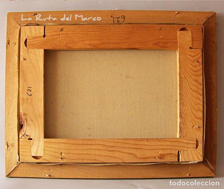 Arte: Márquez - Marina (I) - Cuadro de óleo sobre lienzo - Foto 5 - 132410934