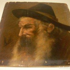 Arte: OLEO SOBRE TABLA DEL FAMOSO PINTOR JOAQUIN ESPALTER RULL..FIRMADO. 1809 - 1880. Lote 132512562