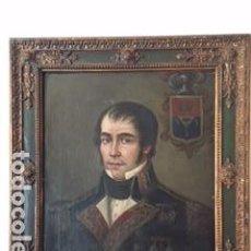 Kunst - Retrato de militar, guerra de la Independencia; atribuido a Asensio Juliá. - 132546058