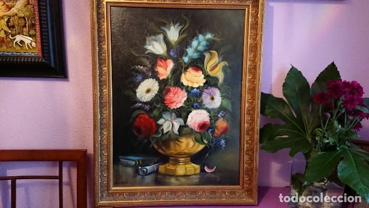 ÓLEO SOBRE TABLA JUAN VIÑAS (Arte - Pintura - Pintura al Óleo Contemporánea )