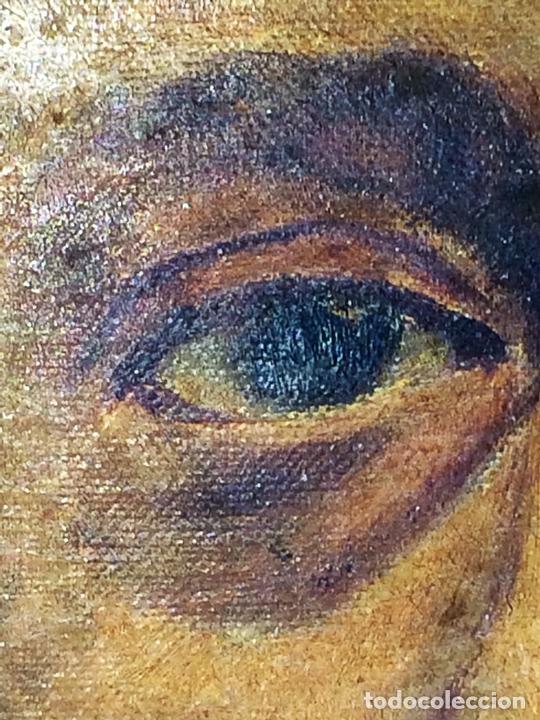 Arte: RETRATO DE CABALLERO. ÓLEO(?) SOBRE LIENZO. FIRMADO S. MATILLA. ESPAÑA. 1890 - Foto 4 - 132660810