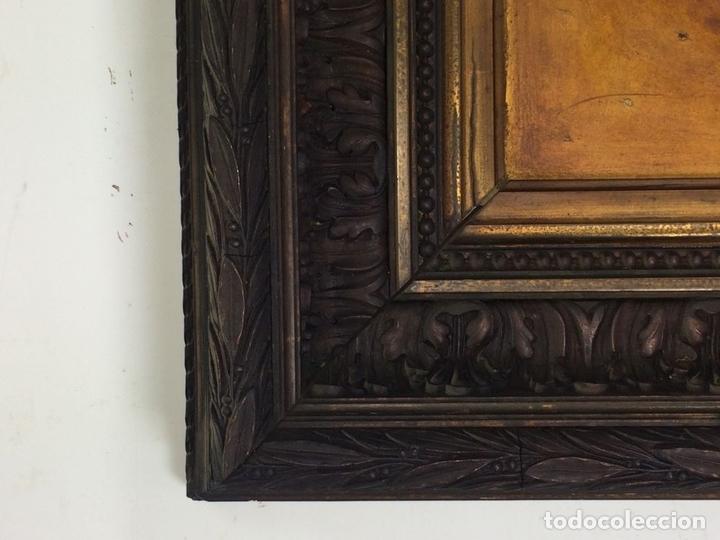 Arte: RETRATO DE CABALLERO. ÓLEO(?) SOBRE LIENZO. FIRMADO S. MATILLA. ESPAÑA. 1890 - Foto 10 - 132660810