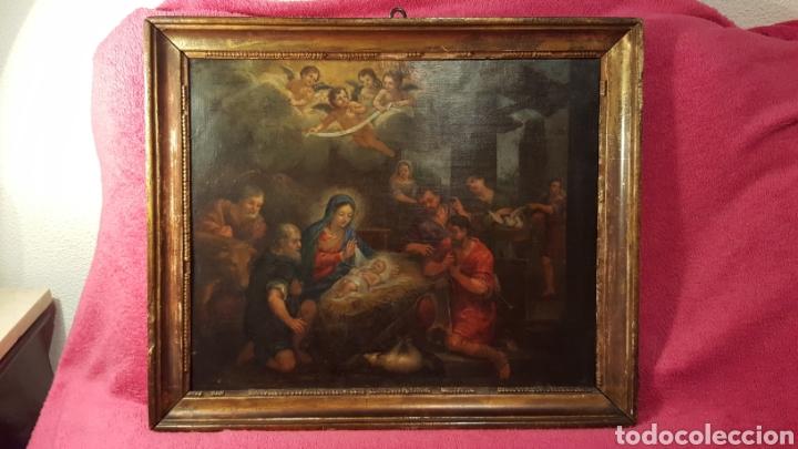 PINTURA ESCUELA ITALIANA FINALES DEL SIGLO XVII (Arte - Pintura - Pintura al Óleo Antigua siglo XVII)