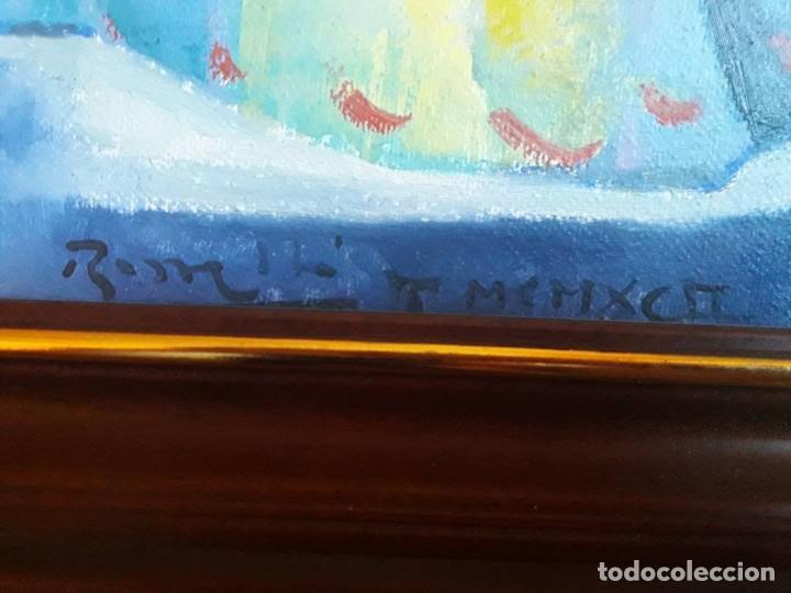 Arte: JOSEP MARIA ROSSELLO-MUJER CON GATOS-1992-CERTIFICADO DE AUTENTICIDAD- - Foto 2 - 132687146
