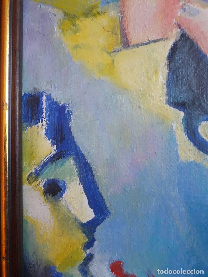 Arte: JOSEP MARIA ROSSELLO-MUJER CON GATOS-1992-CERTIFICADO DE AUTENTICIDAD- - Foto 4 - 132687146