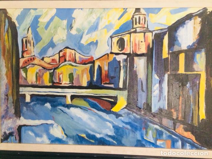 GIRONA ÓLEO SOBRE TELA (Arte - Pintura - Pintura al Óleo Contemporánea )