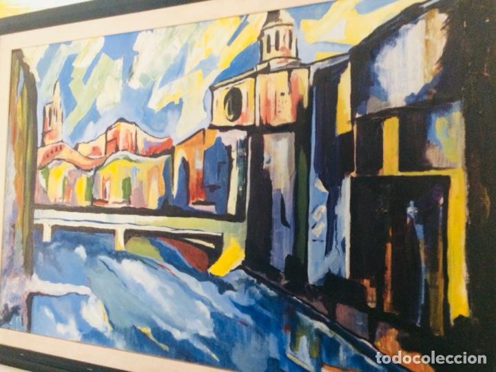 Arte: Girona óleo sobre tela - Foto 2 - 132756397