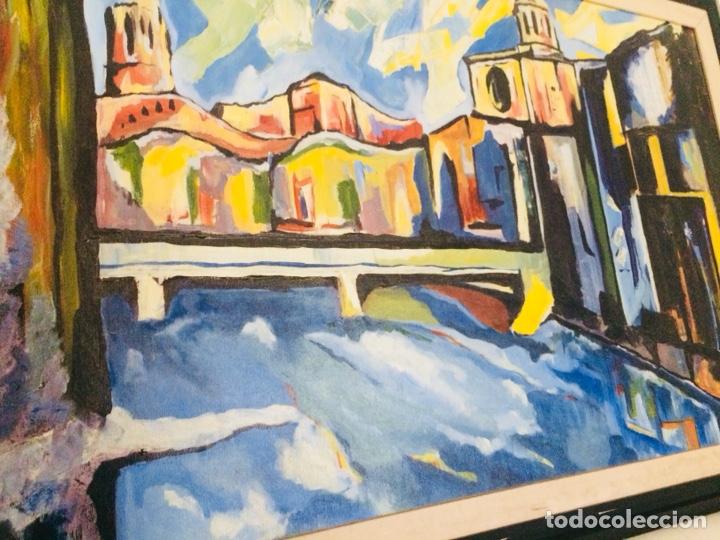 Arte: Girona óleo sobre tela - Foto 3 - 132756397