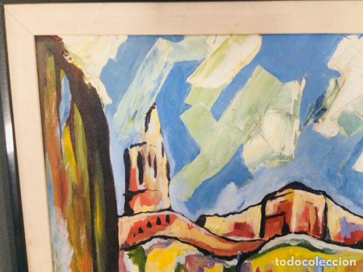 Arte: Girona óleo sobre tela - Foto 4 - 132756397
