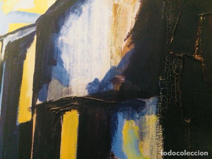 Arte: Girona óleo sobre tela - Foto 6 - 132756397