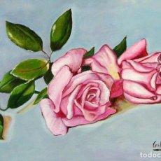 Arte: ROSAS OBRA DE GILABERTE. Lote 132989834