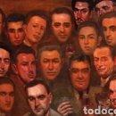 Arte: JOSE MARÍA LOPEZ MEZQUITA EL PINTOR CON SUS AMIGOS. Lote 133062706