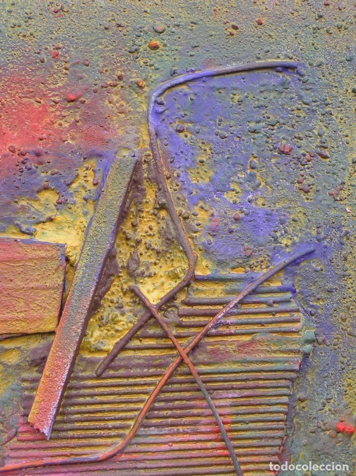 Arte: OBRA ABSTRACTA RECIENTE DE JOSE SANZ SALA( SOLO RECOGIDA ) - Foto 3 - 133155154