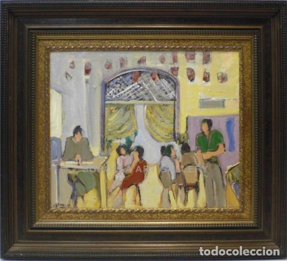 FIGURAS - ESCUELA SOROLLA - OLEO SOBRE LIENZO - 83X74 CM (Arte - Pintura - Pintura al Óleo Contemporánea )
