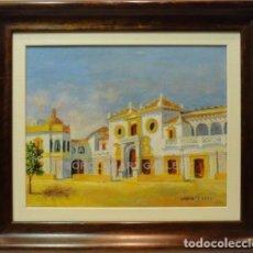 Arte: MAESTRANZA - ESCUELA SOROLLA - OLEO SOBRE LIENZO - 69X59 CM. Lote 98734842