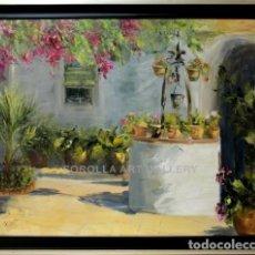 Arte: EL POZO - ROSA MARIA - OLEO SOBRE LIENZO - 112X93 CM. Lote 98735572