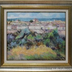 Arte: PAISAJE - ANTONIO SEGRELLES - OLEO SOBRE LIENZO - 75X66 CM. Lote 206444895
