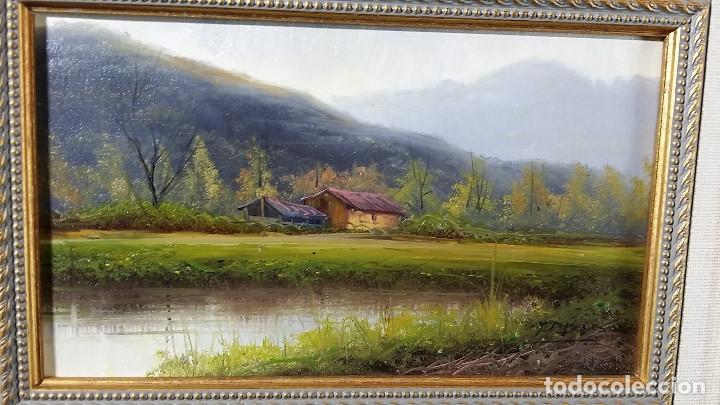Arte: T. TRILLO OLEO LIENZO PAISAJE - Foto 4 - 133569794