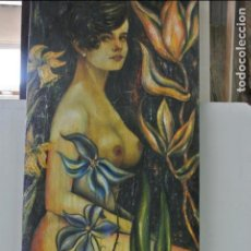 Arte: CUADRO, LIENZO, PINTURA , TECNIA MIXTA. FIRMADO AYALA. Lote 133598414