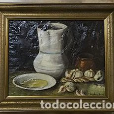 Arte: OLEO BODEGON SOBRE TELA. Lote 133637754