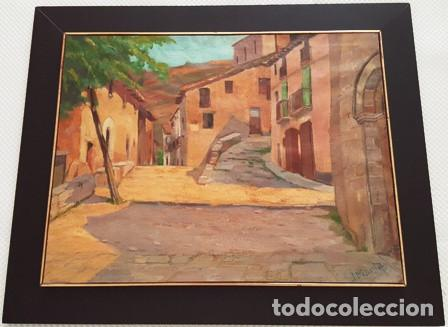 MAGNIFICO CUADRO DE JOSEP MARFA GUARRO - MURA - AÑO 1980 - (Arte - Pintura Directa del Autor)