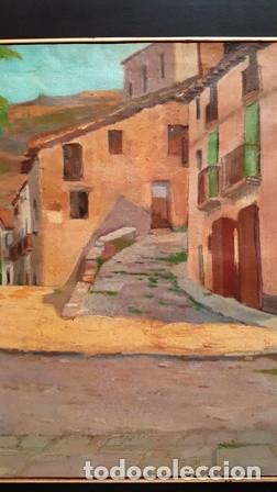 Arte: MAGNIFICO CUADRO DE JOSEP MARFA GUARRO - MURA - AÑO 1980 - - Foto 4 - 133638778