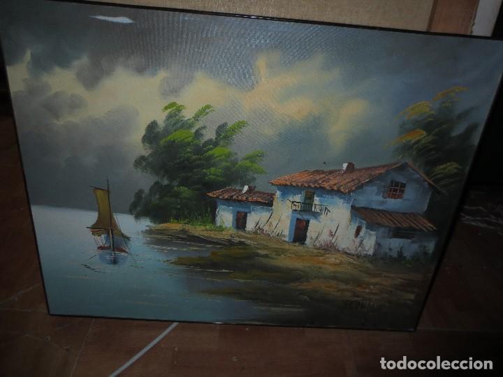 OFERTA !!!!!!! PRECIOSO OLEO ANTIGUO ORIGINAL FIRMADO (Arte - Pintura - Pintura al Óleo Moderna sin fecha definida)