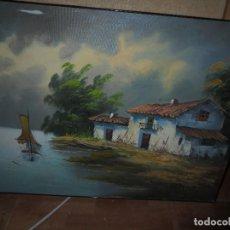 Arte: OFERTA !!!!!!! PRECIOSO OLEO ANTIGUO ORIGINAL FIRMADO . Lote 133640318
