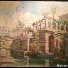 Arte: ESCENOGRAFIA ATRIBUIDA A JOSEP MESTRES CABANES (1898-1990). Lote 133652350