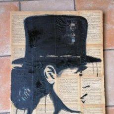 Arte: ACRÍLICO SOBRE CARTÓN PLUMA (WOMEN) ESCUELA DE ARTE ALICANTE ORIGINAL 50X70. Lote 133664942