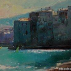 Arte: CADAQUÉS, DANIEL CODORNIU 38X46CM. Lote 133752258