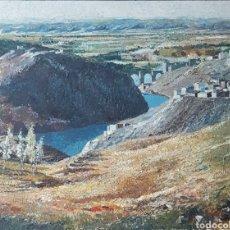Arte: JOSEP MARIA VAYREDA CANADELL(1932-2001).VISTA DE TOLEDO.1972.FIRMADO.TITULADO.CATALOGADO.OLEO/TELA.. Lote 133786318