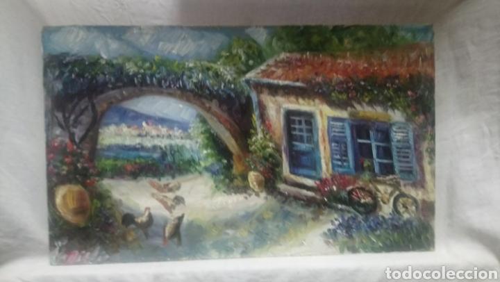 COSTA DE GRECIA (Arte - Pintura Directa del Autor)