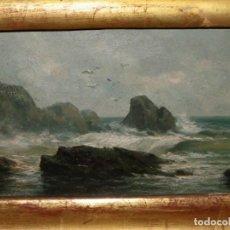 Arte: ENRIQUE CASANOVAS. COSTA ROCOSA. Lote 133909570