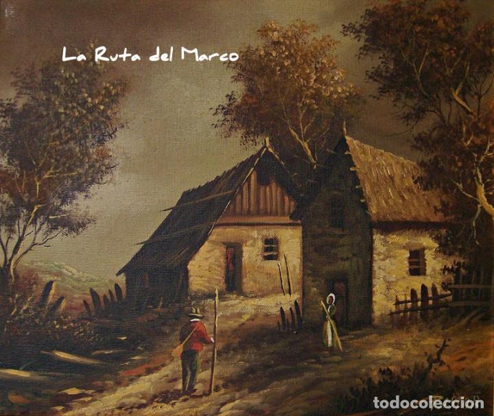 Arte: Pastor - Dos cuadros de óleo sobre lienzo enmarcados - Foto 5 - 133959286