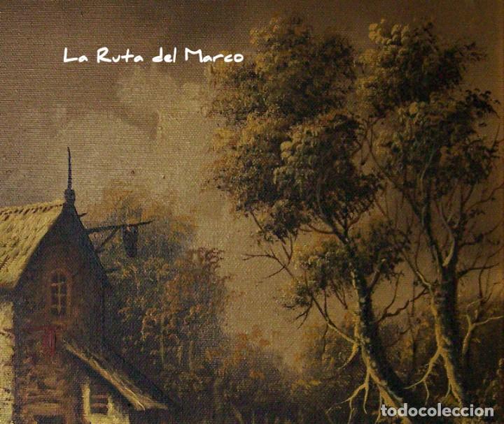 Arte: Pastor - Dos cuadros de óleo sobre lienzo enmarcados - Foto 6 - 133959286