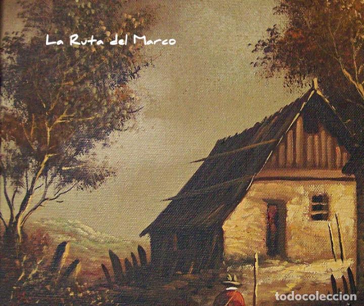 Arte: Pastor - Dos cuadros de óleo sobre lienzo enmarcados - Foto 11 - 133959286