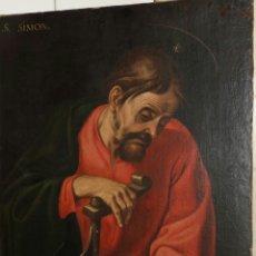 Arte: LUIS TRISTÁN DE ESCAMILLA (TOLEDO H.1585-1624): APÓSTOL SAN SIMÓN. Lote 134030465