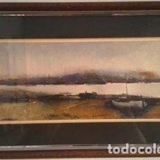 Arte: MAGNIFICO CUADRO DE JOSEP MARFA GUARRO - PINTURA - AMPURDA - AÑO 1980 -. Lote 134079134