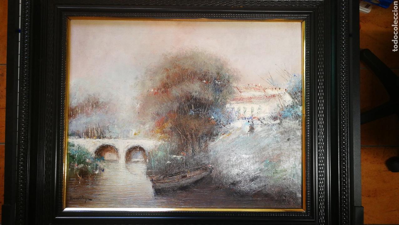 ÓLEO PINTOR MALAGUEÑO FRANCISCO MORENO ORTEGA (Arte - Pintura - Pintura al Óleo Contemporánea )